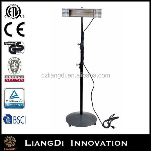 Quartz Patio Outdoor Ceiling Electrical Wall Mounted Infrared Carbon Heater