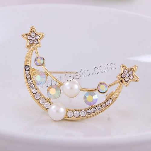 Zinc Alloy Pearl And Rhinestone Trimmings 869331