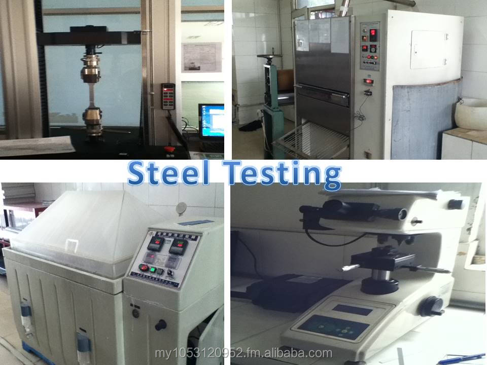 Tester for test the steel