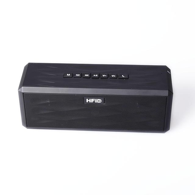 High end design powered super bass wireless subwoofer bluetooth stereo speakers for mp3 player mobile phone