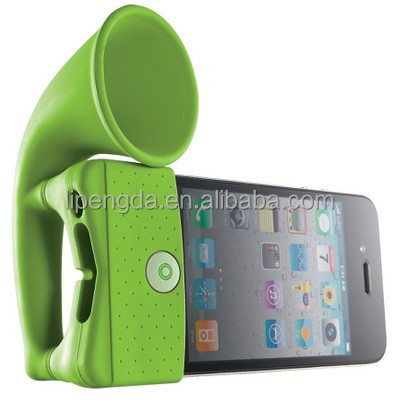 Brand new mini silicone silicone speaker for mobile phone