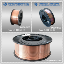 copper co2 welding wire price 250kg/drum Korea