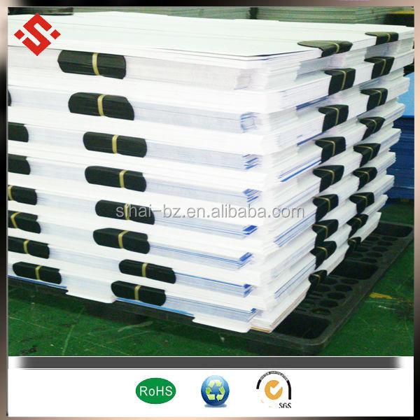 pp corfluted material foldable storage/ packing box