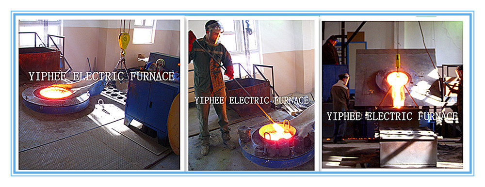 High Efficiency Hydraulic Tilting Melting Furnace / Intermediate Frequency Melting Furnace / Electric Induction Melting Furnace