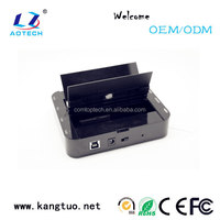 High quality 2 bay SATA CLONE/OTB/RAID ssd hdd docking station