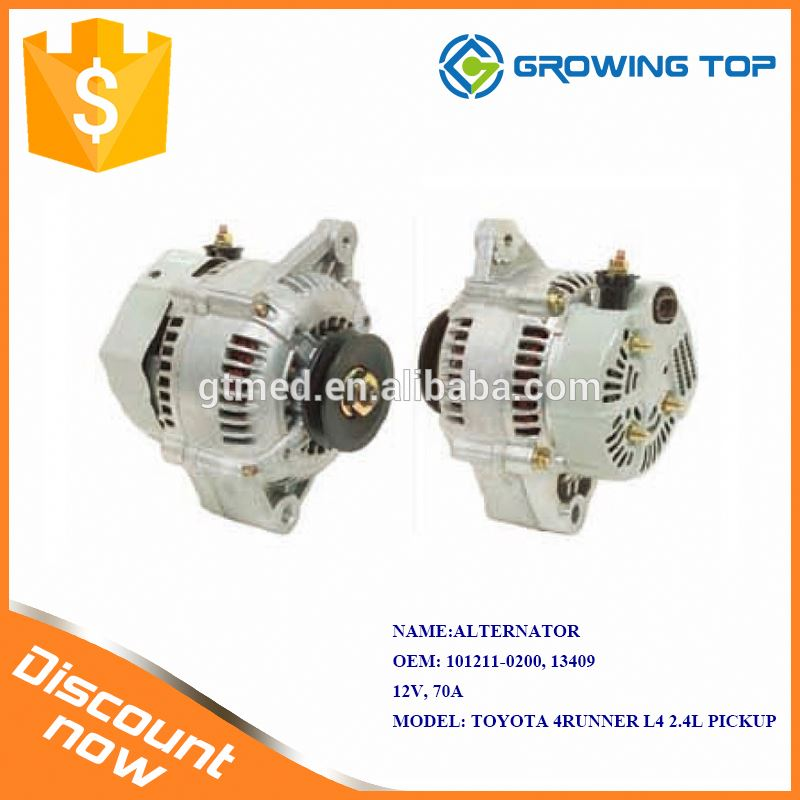 Factory Price 101211-0200 / 13409 Motorcycle Alternator for toyota