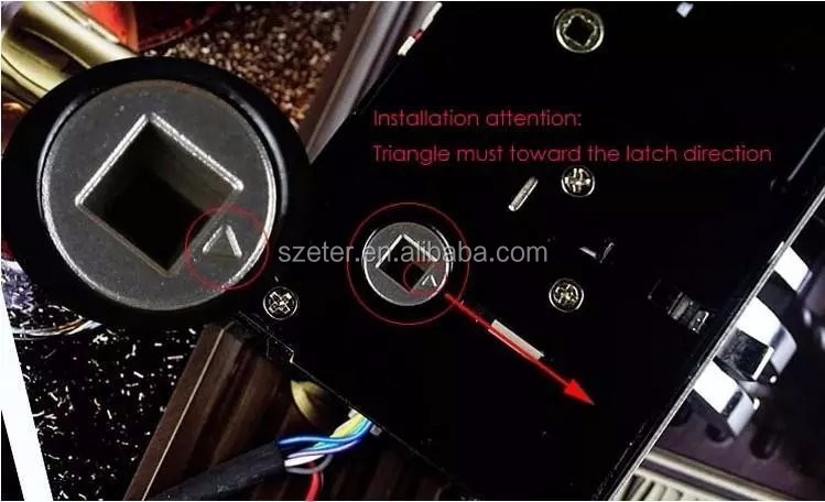 Electronic key RF card hotel lock management System