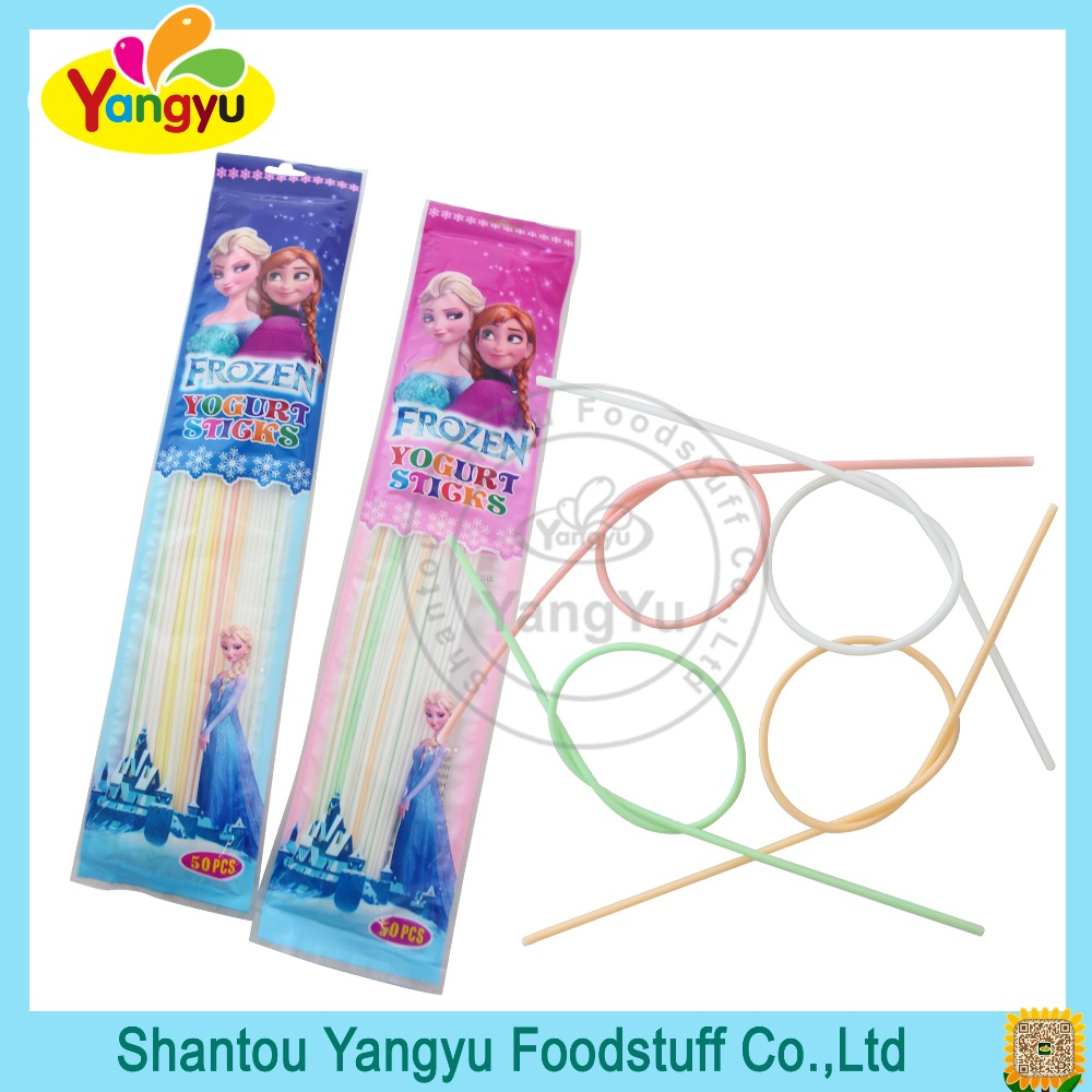 Frozen Yogurt Sweet CC Stick Candy