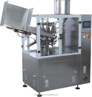 automatic plastic tube filling and sealing machine for cream