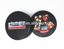 wholesale china blue youth ice hockey pucks