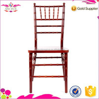 Multifunctional Qingdao Sinofur monobloc one piece chiavari chair
