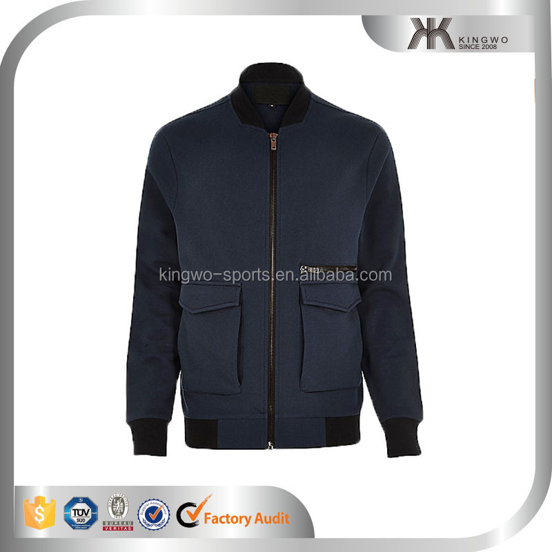 Men's Clothing OEM Jogger Custom Autumn/Winter Padding Varsity Jacket