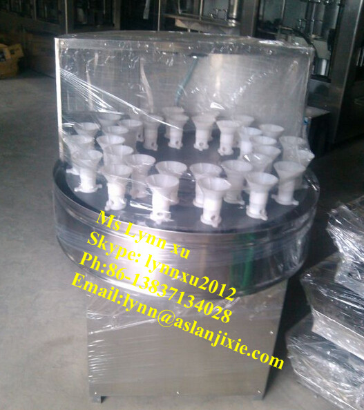 bottle washer/plastic beverage bottle washing machine