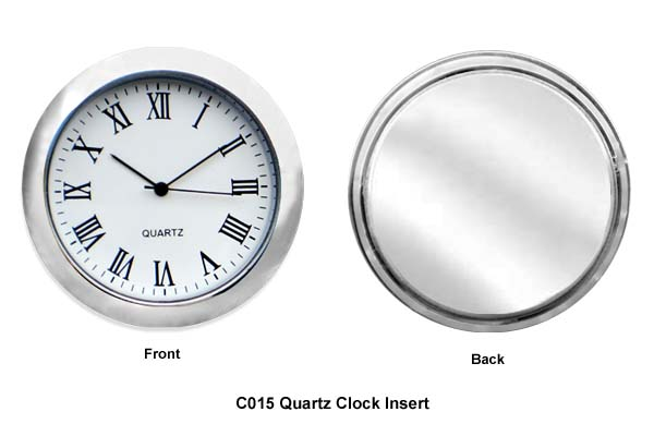 Quartz Clock Insert - 50mm D