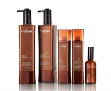 OEM/ Private label ethnic hair care products hot sale argan oil series hair mask / shampoo and conditioner