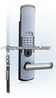 Five-latch mechanical rotating keypad door lock with free handle PY-8191