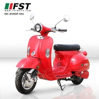 2000w 60V EEC China Classic VESPA vintage electric vespa scooter Retro Italy style e motorcycle