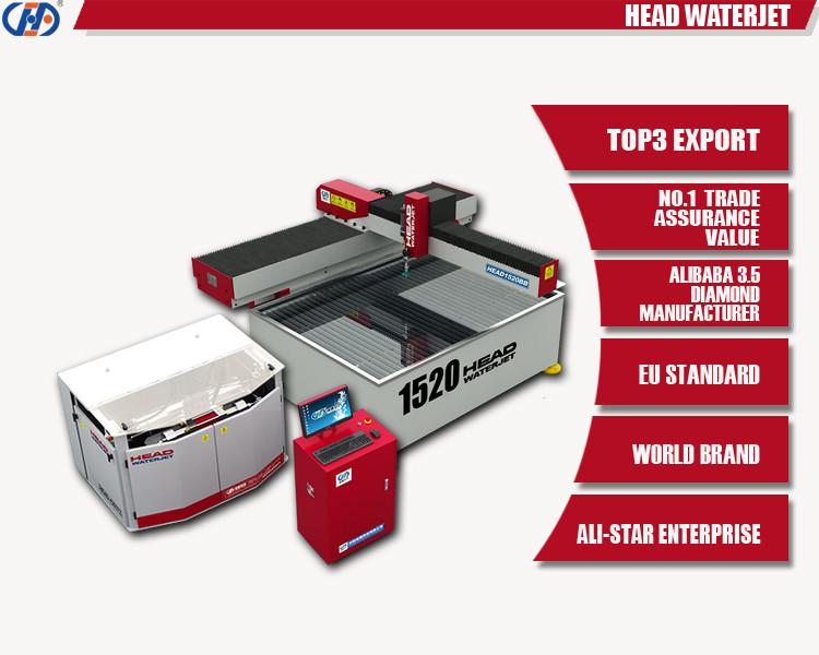 Meilleur vente jet d'eau machine carreaux de céramique au jet d'eau machine de découpe