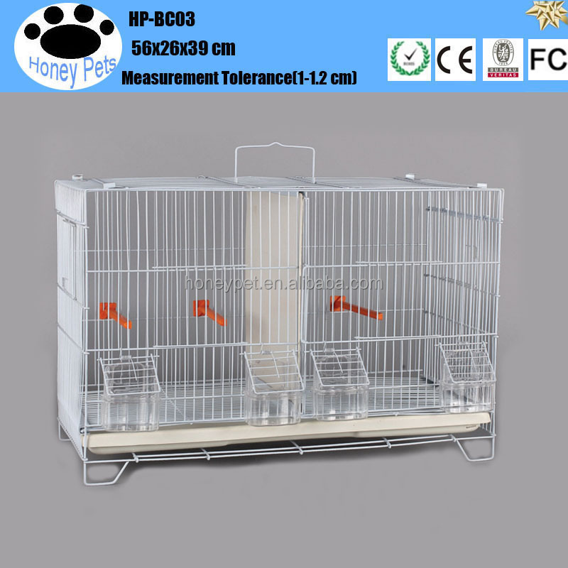 HP-BC03 pet canary bird cages with dividers for sale