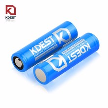 Discharge Max 40A Discharge 3.7V 3000mAh KDEST 18650 Rechargeable Battery