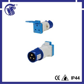 New 2P+E IP44 Favorable price german standard plug