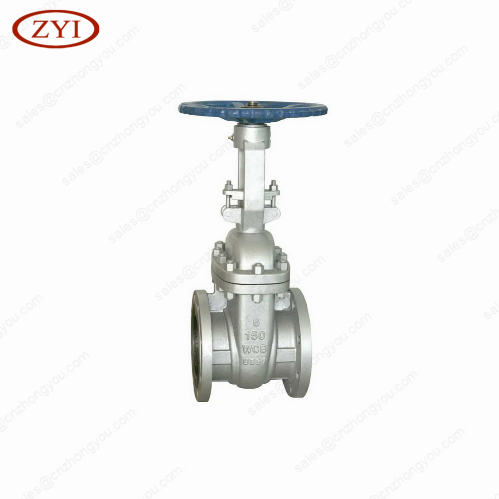 High quality hand wheel operated stem gate valve