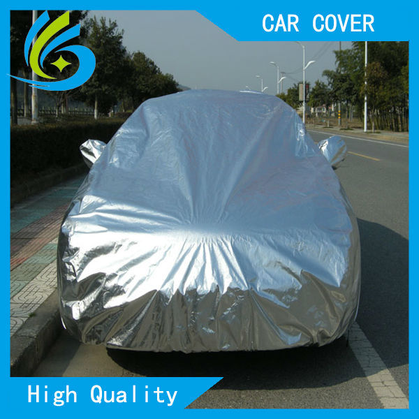 Aluminium super UV proof car cover sun protection