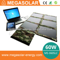 60W Foldable Solar panel Charger for Travelling,Camping