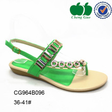 comfortable ladies fancy flat green dress shoes