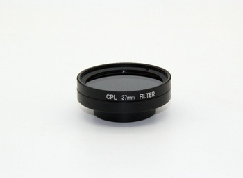 Gopros Integral CPL Filter with Lens Cover Set, for GoPros 4/3+/3 Camera, 37MM diameter