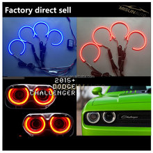 Dodge Challenger Led angel eye kits halo rings cars work light