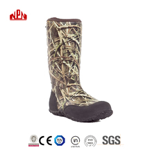 Men Neoprene Camo Hunting Boots Wellies Boots Rain Boots