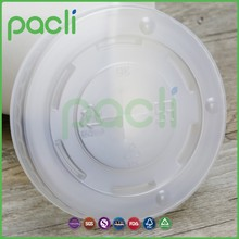 Plastic PS material cup lid for cold tea drinking paper cup