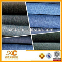 CVC cotton polyester good spandex denim jeans fabric trading company