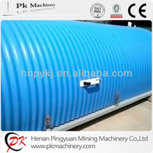 Galvanized steel sheet anti- rain Belt Conveyor Cover