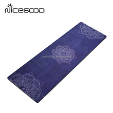 Wholesale hot non slip microfiber yoga mat towel with private label
