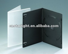 Single DVD case Translucent 7mm DVD Case Slim DVD Cases