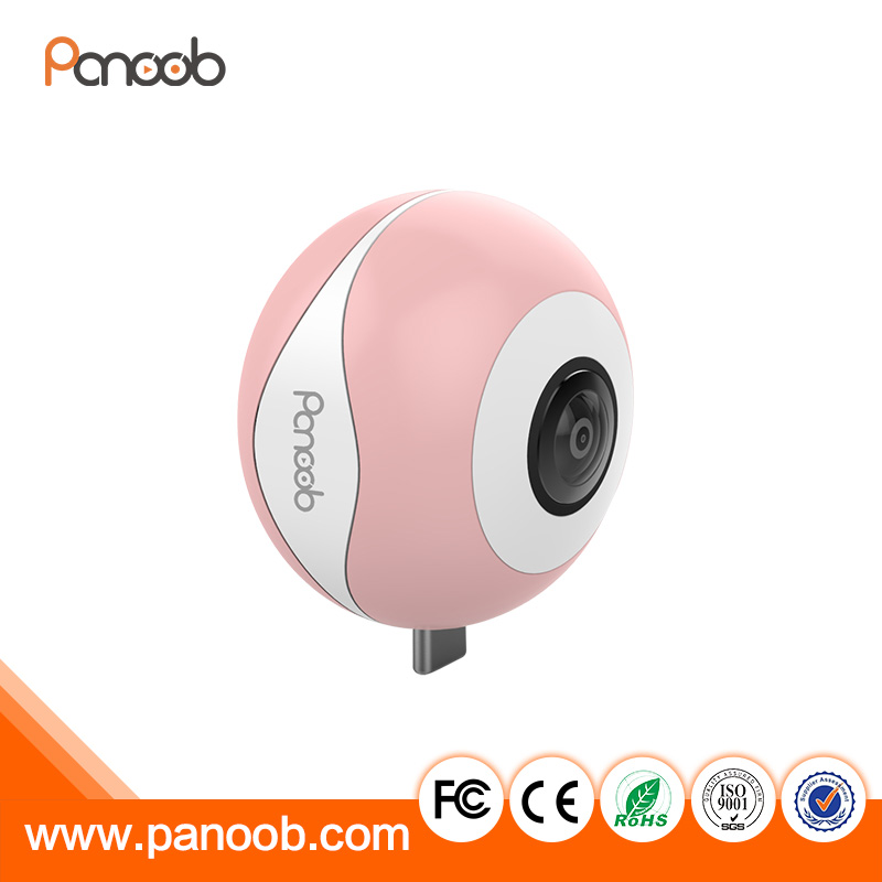 720 Degree Cam Spherical Camera dual lens panoramic mini VR camera for samsung Galaxy