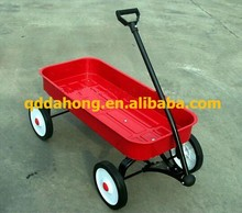 metal kid's red wagon