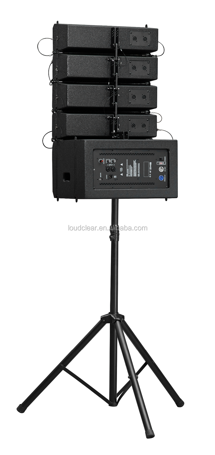 China speaker supplier wide adaptability line array two-way speaker with high quality