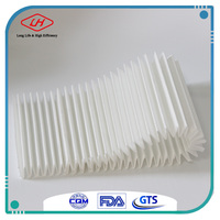 Glass wool air Glass fiber paper cellulose air filter