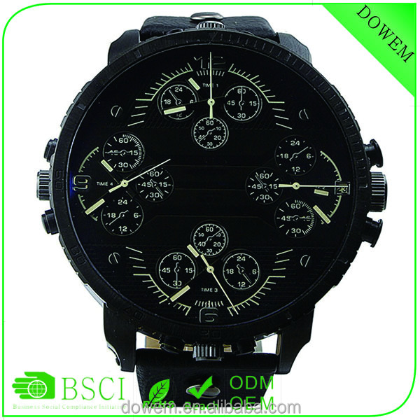New design watch Precision work DS concept 4 movement military watches waterproof watch