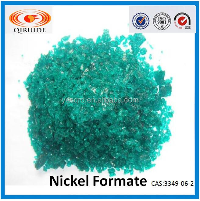 Supply High Quality 99.0% Nickel ii Formate CAS:3349-06-2