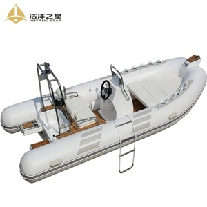 PVC Material RIB 4.8m Aluminum Hull Fishing Boat With Wholesale Price