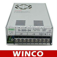 S-320-24 320W 24V single output switching power supply