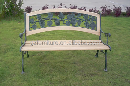 Garden arch with bench
