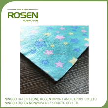 RS NONWOVEN polyester 3mm household kitchen wipes nonwoven fabric