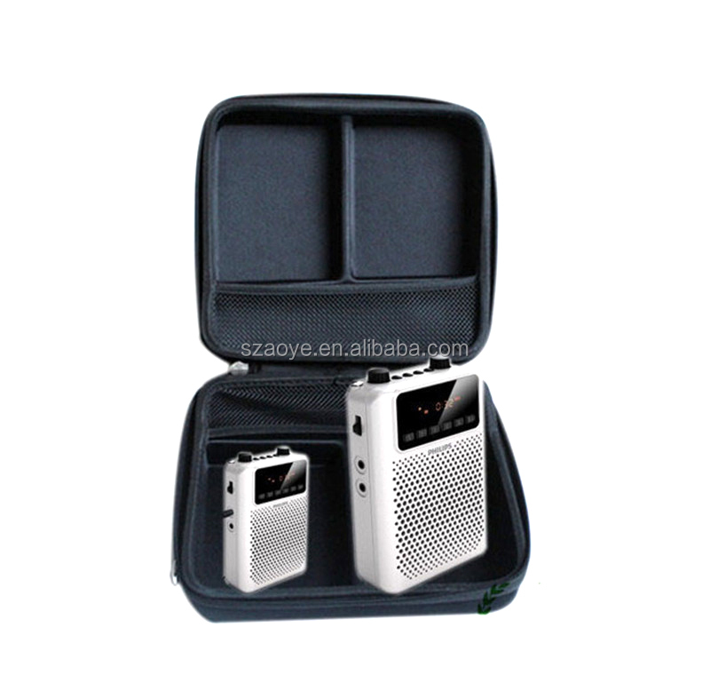 EVA tool case for wireless microphone audio for Yamaha HIFIsound speaker