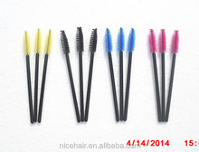 Colorful eyelash brush Disposiable mascara wands