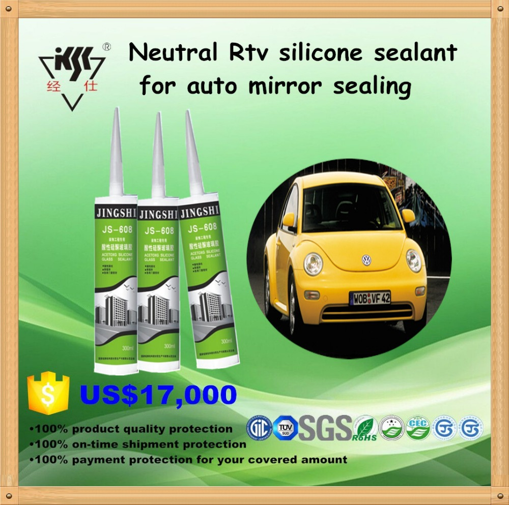 Acetoxy structual auto glass silicone sealant for auto mirror sealing